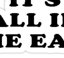 Bad ass ear club Sticker