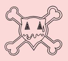 Percentum Skull & Xbones2 (black) by PercentumDesign