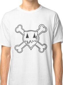 Percentum Skull & Xbones2 (black) Classic T-Shirt