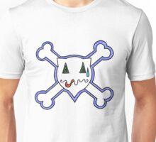 Percentum Skull & Xbones3 Unisex T-Shirt