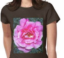 Rose and its new friend Womens Fitted T-Shirt