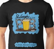 Philosophy Club Scribble Tee with Tagline Unisex T-Shirt