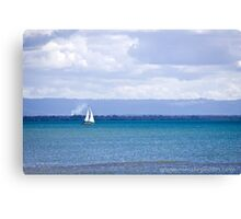 Sailing on the Sea Canvas Print