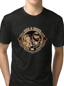 Tuck & Dale's Woodchipping Services Tri-blend T-Shirt