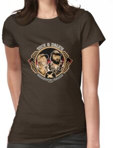 Tuck & Dale's Woodchipping Services Womens Fitted T-Shirt