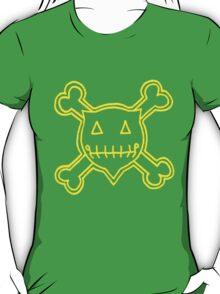 Percentum Skull & Xbones4 (yellow) T-Shirt