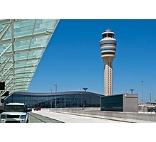 Airport Control Tower. Photographic Print
