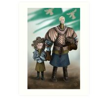 Brienne and Loras Art Print