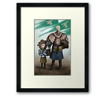 Brienne and Loras Framed Print