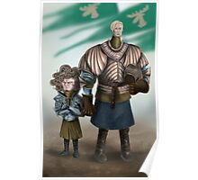 Brienne and Loras Poster