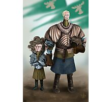 Brienne and Loras Photographic Print
