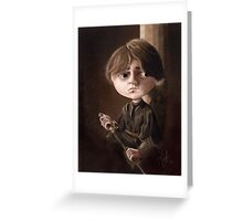 Arya Stark Greeting Card