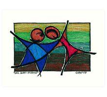 Sail Away Study 2 Art Print