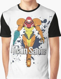 I Main Samus - Super Smash Bros. Graphic T-Shirt
