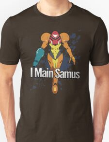 I Main Samus - Super Smash Bros. T-Shirt
