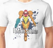 I Main Samus - Super Smash Bros. Unisex T-Shirt