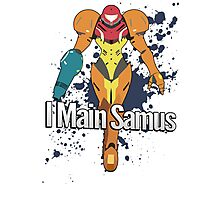 I Main Samus - Super Smash Bros. Photographic Print
