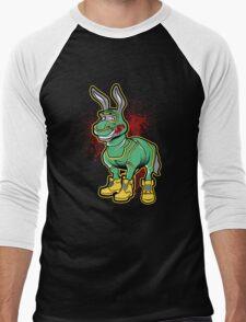 KICK ASS Men's Baseball ¾ T-Shirt