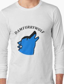 Damfurrywolf's logo shirts^^ Long Sleeve T-Shirt