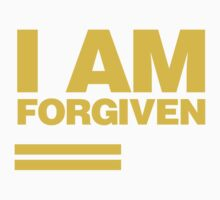 I AM FORGIVEN (ROYAL YELLOW) Kids Clothes