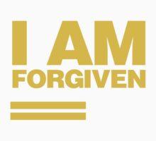 I AM FORGIVEN (ROYAL YELLOW) Kids Clothes