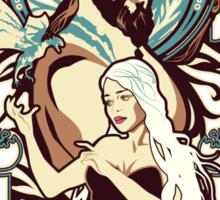 Dothraki Nouveau Sticker