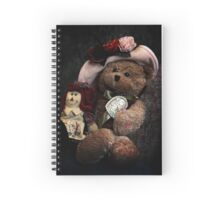 BFFs: Teddy Bear and Raggedy Ann Spiral Notebook