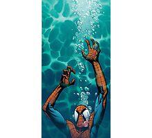 Spiderman comic Photographic Print