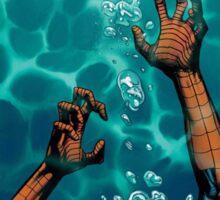Spiderman comic Sticker