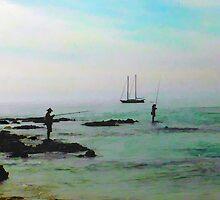 Bali fishermen by surfcityres