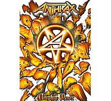 Anthrax Band Tour Photographic Print