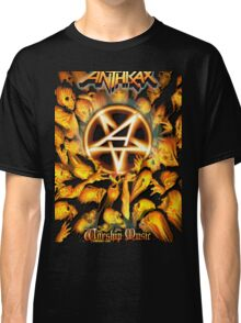 Anthrax Band Tour Classic T-Shirt