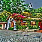 Carmel Gas Station by RoySorenson