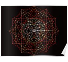 """Meta-Flower of Life³"" Poster"