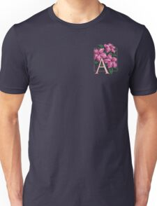 A is for Azalea - patch Unisex T-Shirt