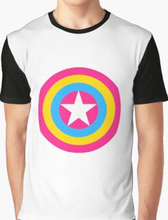 Captain Pansexual Graphic T-Shirt