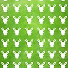 Lots O' Grass Bunnies by Jenifer Jenkins