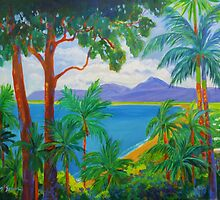 Port Douglas Four Mile Beach # 2  by Virginia McGowan