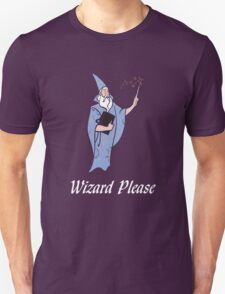 Wizard Please! T-Shirt
