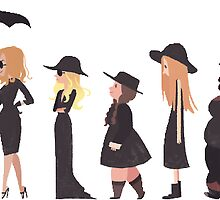 American Horror Story Coven by nbrehaut32