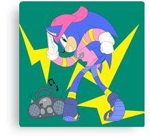 Sonic OVA Canvas Print