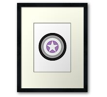 Captain Asexual Framed Print