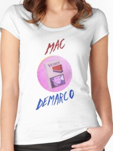 MAC-DEMARCO' - T#2 Women's Fitted Scoop T-Shirt