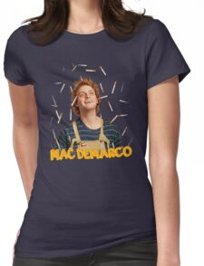 MAC-DEMARCO' - T#3 Womens Fitted T-Shirt
