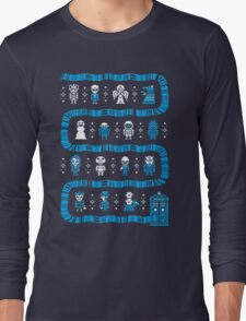 Doctor Who Police Box Sweater Long Sleeve T-Shirt