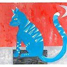 Blau Meow by artisallstudios