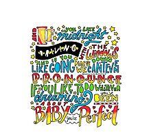 Perfect Lyrics by Drawingsbymaci
