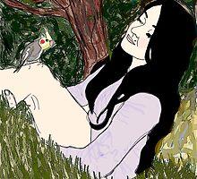 Escape to the garden by Elliceweaver