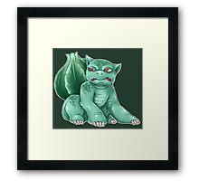Bulbasaur! Framed Print