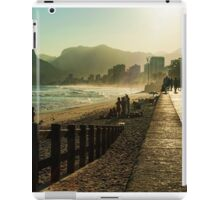Along Ipanema Beach iPad Case/Skin
